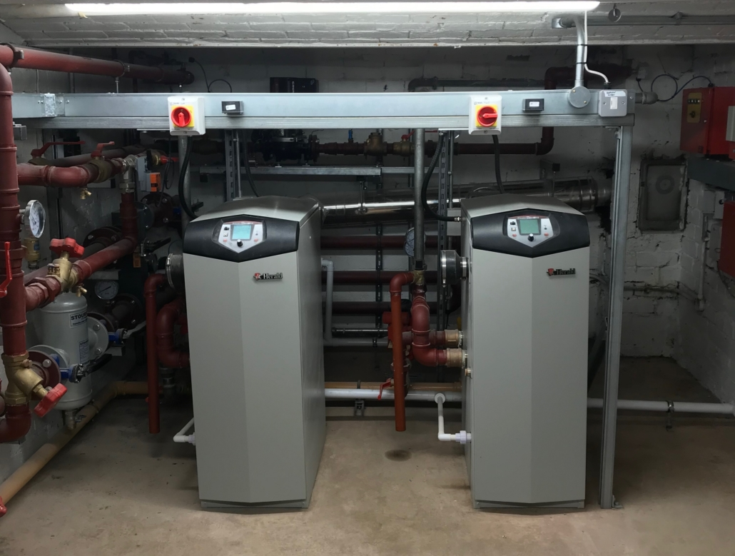 Lochinvar Boiler installation